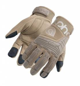 ALPHA GLOVES #AG03-05-S VIBE Impact Coyote Small