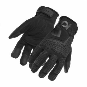 ALPHA GLOVES #AG03-07-M VIBE Impact Stealth Medium