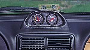 AUTO METER #10001 2-1/16 Dual Gauge Pod - 94-97 Mustang