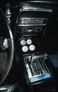 AUTO METER #10002 2-1/16 4 Gauge Console Pod - 68-69 Camaro