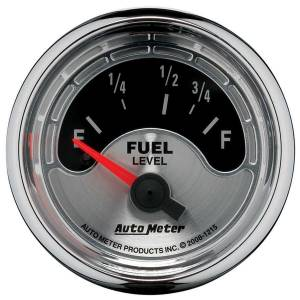 AUTO METER #1215 2-1/16 A/M Fuel Gauge 73-10 Ohms