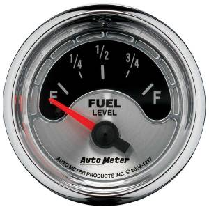 AUTO METER #1217 2-1/16 A/M Fuel Gauge 240-33 Ohms