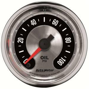 AUTO METER #1219 2-1/16 A/M Oil Pressure Gauge 0-100psi