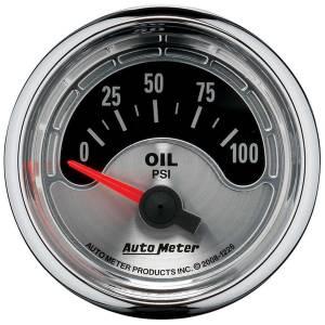 AUTO METER #1226 2-1/16 A/M Oil Pressure Gauge 0-100psi