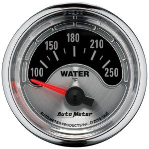 AUTO METER #1236 2-1/16 A/M Water Temp Gauge 100-250
