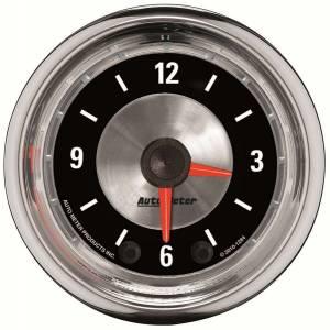AUTO METER #1284 2-1/16 A/M Clock