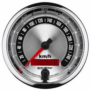 AUTO METER #1288-M 3-3/8 A/M Speedometer 260KPH