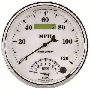 AUTO METER #1290 3-3/8in O/T/W II Tach/ Speedo Combo