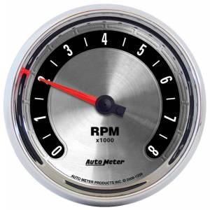 AUTO METER #1298 3-3/8 A/M Tachometer 8000RPM
