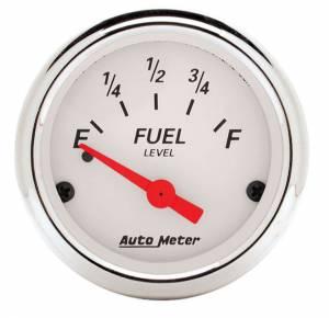 AUTO METER #1318 2-1/16 A/W Fuel Gauge 0-30 ohms