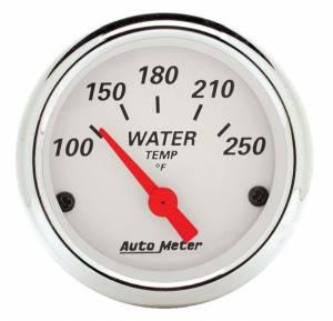 AUTO METER #1337 White Water Temp. 100-25