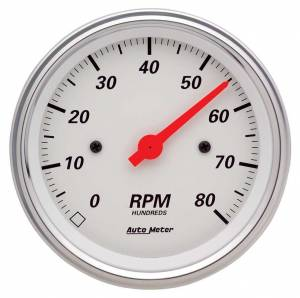 AUTO METER #1390 3-3/8in A/W Street Rod Tach
