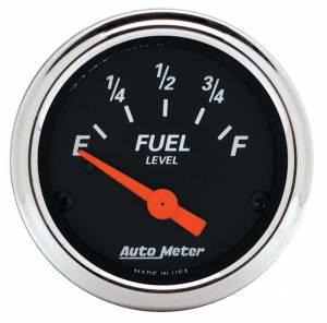 AUTO METER #1422 2-1/16 D/B Fuel Level Gauge 0-90 Ohms