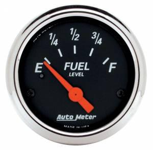 AUTO METER #1424 2-1/16 D/B Fuel Level Gauge - 240-33 Ohms