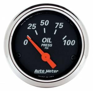 AUTO METER #1426 2-1/16 D/B Oil Pressure Gauge - 0-100psi