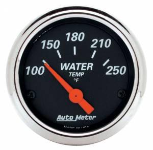 AUTO METER #1436 2-1/16 D/B Water Temp Gauge - 100-250 Deg.