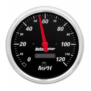 AUTO METER #1489 5in D/B Speedometer 120MPH