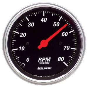 AUTO METER #1490 3-3/8in D/B Street Rod Tach