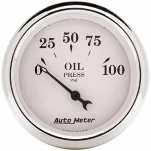 AUTO METER #1628 2-1/16 O/T/W Oil Press. Gauge - Electric