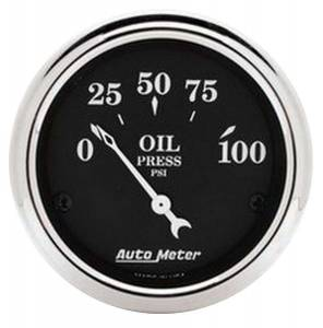AUTO METER #1727 2-1/16 O/T/B Oil Press. Gauge