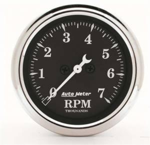 AUTO METER #1797 Gauge Tachometer 2 1/16i n 7k RPM In-Dash Black B