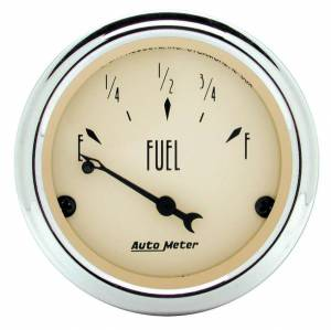 AUTO METER #1815 2-1/16in A/B Fuel Level Gauge - 0-90 Ohms