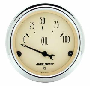 AUTO METER #1827 2-1/16in A/B Oil Pressure Gauge