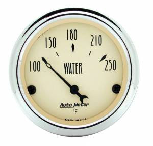 AUTO METER #1837 2-1/16in A/B Water Temp Gauge