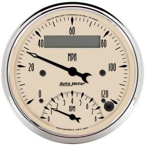 AUTO METER #1881 3-3/8in A/B Tach/Speedo Combo