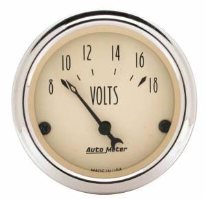 AUTO METER #1891 2-1/16in A/B Voltmeter Gauge
