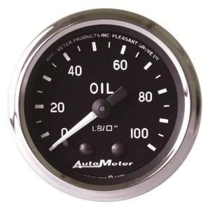 AUTO METER #201006 2-1/16in Cobra Series Oil Pressure Gauge