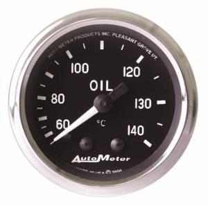 AUTO METER #201008 2-1/16in Cobra Series Oil Temp Gauge