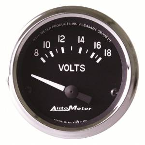 AUTO METER #201009 2-1/16in Cobra Series Voltmeter Gauge