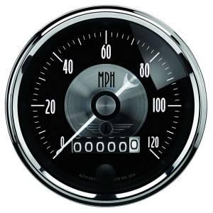 AUTO METER #2088 3-3/8 Speedometer Gauge 120mph Elec Programmable