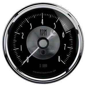 AUTO METER #2096 3-3/8 Tachometer In-Dash 8000 RPM Prestige