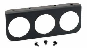 AUTO METER #2238 3-Hole Aluminum Panel