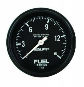 AUTO METER #2311 1-15 Fuel Pressure A/Gag