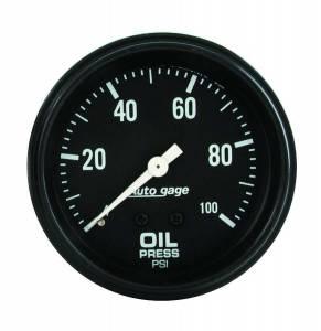 AUTO METER #2312 0-100 Oil Pressure A/Gag
