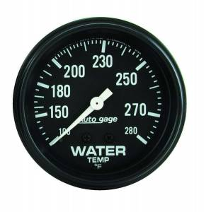 AUTO METER #2313 100-280 Water Temp A/Gag