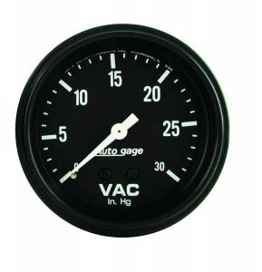 AUTO METER #2317 0-30 Vacuum Autogage