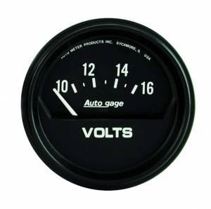 AUTO METER #2319 10-16 Voltmeter Autogage