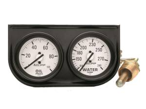 AUTO METER #2326 2-1/16in Oil/Wtr Console