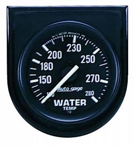 AUTO METER #2333 100-280 Water Temp Gauge