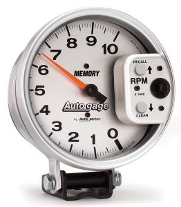 AUTO METER #233907 5in Auto Gage Monster Tach Silver