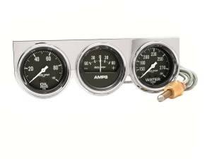 AUTO METER #2395 2-5/8 Chrm Mech Gauge Pn