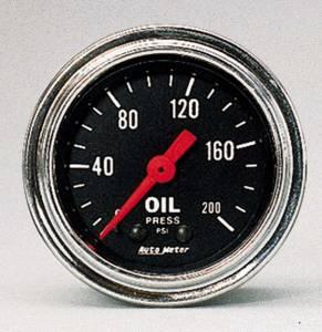 AUTO METER #2422 0-200 Oil Pressure Gauge