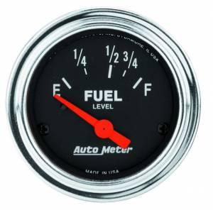 AUTO METER #2518 2-1/16in Fuel Level Gauge
