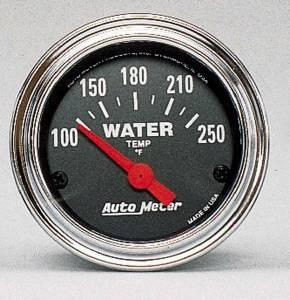 AUTO METER #2532 100-250 Water Temp Gauge