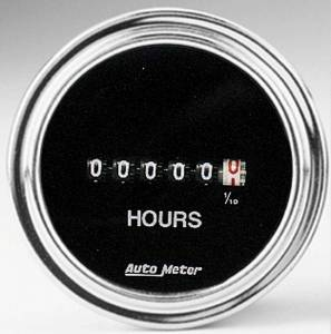 AUTO METER #2587 2in Hourmeter Gauge