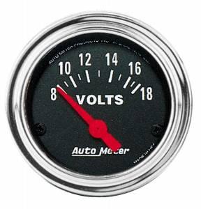 AUTO METER #2592 .0-16 Voltmeter Gauge